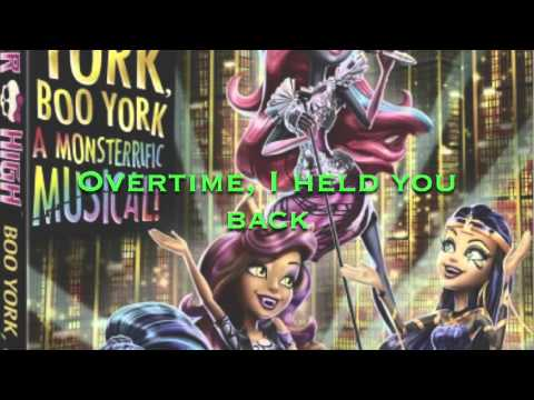 monster high boo york boo york - it can't be over feat. cleo denile and deuce lyrics - youtube