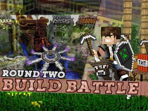 Minecraft Build Battle Mini Game - Hypixel Server! #2