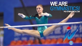 MUSTAFINA Aliya (RUS) – 2014 Artistic Worlds, Nanning (CHN) – Qualifications Uneven Bars