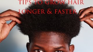 How To Grow Your Hair Healthier, Longer & Faster