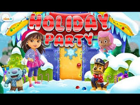 New Nick Jr. Game - Nick Jr Holiday Party ( Adventure Game 3-4 years ...