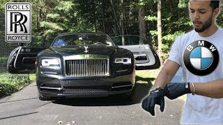 BMW Drivers Review A Rolls Royce Wraith