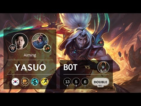 Yasuo Bot vs Jhin - KR Challenger Patch 10.2