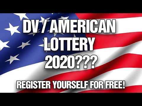 How To Register For DV LOTTERY/AMERICAN LOTTERY 2020/2021 For FREE ONLINE!