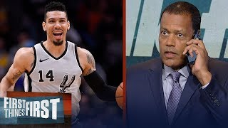Stu Jackson on Danny Green playing with undetected groin tear last season | NBA | FIRST THINGS FIRST
