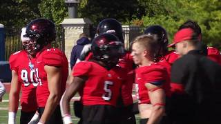 North Central College Football Vs Augustana 10 12 19 Youtube