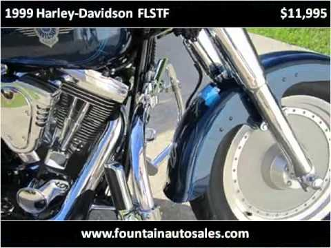 1999 Harley-Davidson FLSTF Used Cars Ocean Springs MS