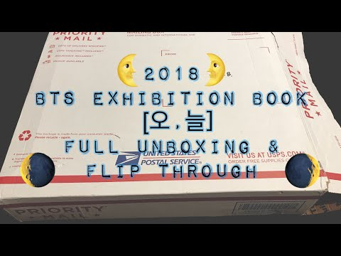Free Download 2018 Bts Exhibition Book [오,늘] Full Unboxing & Flip Through Mp3 dan Mp4