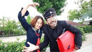 يومي كطالب في مدرسة كورية || Korean High School