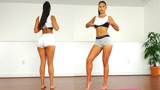 Slim Tummy & Round Butt Workout | Plus Underwear Fashion Show