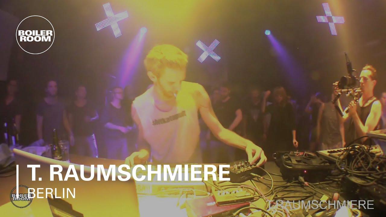 T. Raumschmiere Boiler Room Berlin Live Set - YouTube