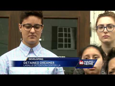 Immigrant dreamer remains in custody