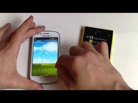 Nokia Lumia 720 vs. Samsung Galaxy S3 mini - boot