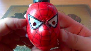 Вредные игрушки - Голова Человека-паука и другие :)