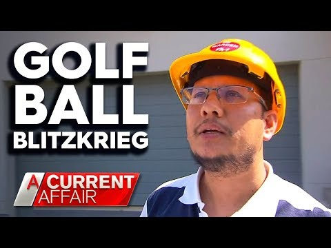 Wayward Golf Balls Have Neighbours On Edge | A Current Affair