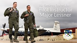 340th Flying Training Group: Major Lessner