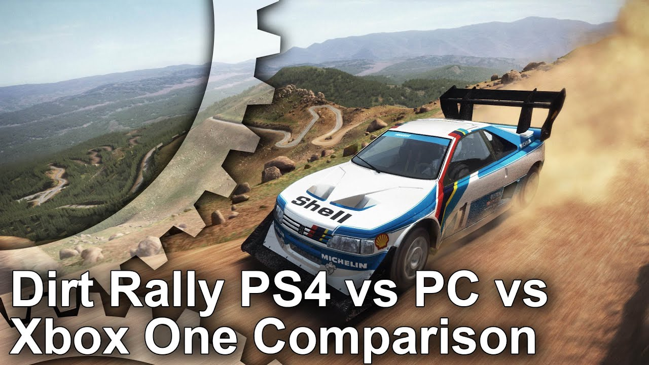 dirt rally ps4 xbox one pc graphics comparison youtube. Black Bedroom Furniture Sets. Home Design Ideas
