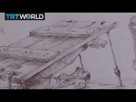 Syria's Tortured Artists: Torture survivor turns to art as therapy