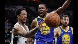 Golden State Warriors vs San Antonio Spurs_NBA Highlights _(March 19th 2019)