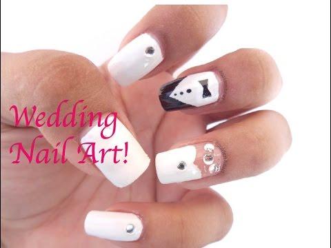 Wedding Bridal Nail Art Tutorial Prachi Gajjar Diy