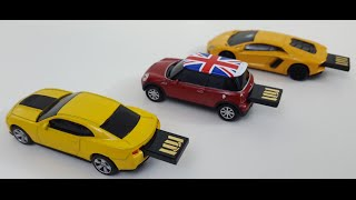 Autodrive USB Flashdrive Model Cars Review