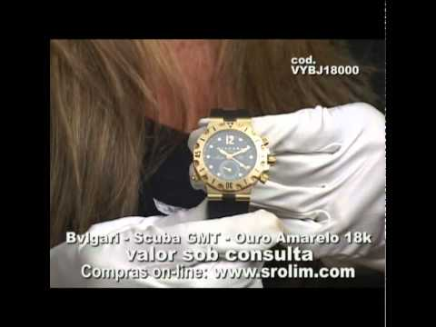 5c83512bdc7 Bvlgari Scuba GMT - YouTube