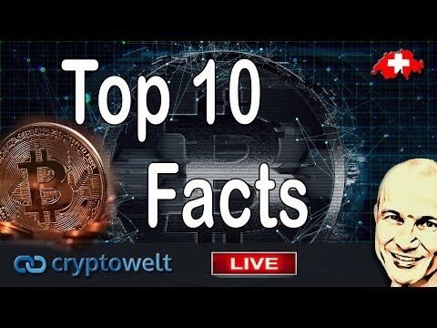 Top 10 Bitcoin Facts - mal schauen ob Du alle kennst