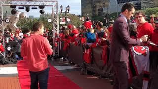 Taylor Hall, Devils walk the Red Carpet