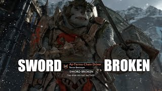 Middle-Earth Shadow of War : Compilation of Sword Broken by Olog Captains