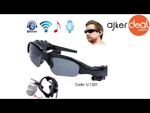 Smart bluetooth sunglasses with earphone in Bangladesh | Ajkerdeal