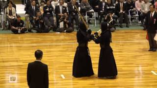 14th All Japan Invitational 8-dan Kendo Championships — Quarter-final 1