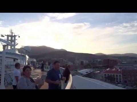 Radiance of The Seas Hobart Cruise Terminal Tasmania - Tasman Bridge Hobart Australia