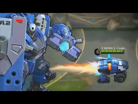 *NEW* EPIC Johnson Skin Gameplay (S.A.B.E.R - SQUAD) Mobile Legends