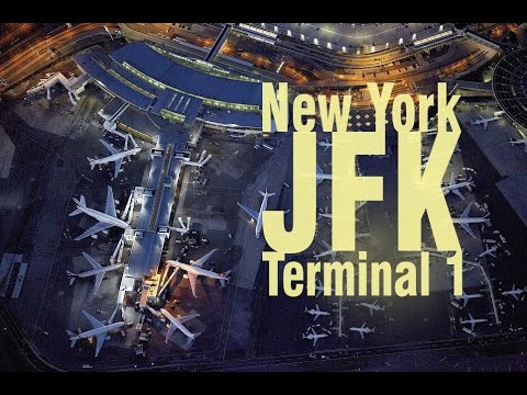 New York JFK Airport | Terminal 1 and tour aboard the AirTrain