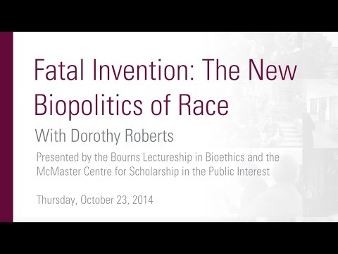"""Dorothy Roberts Q&A Session, """"Fatal Invention: The New Biopolitics of Race."""""""