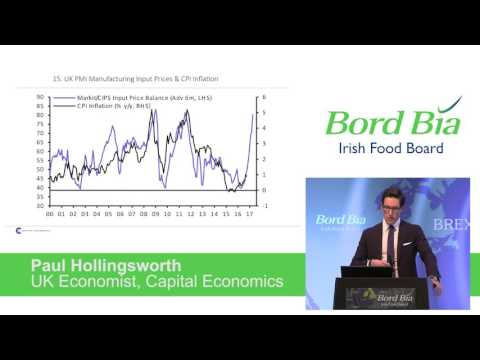 Paul Hollingsworth, Capital Economics - Bord Bia's Brexit Seminar, London