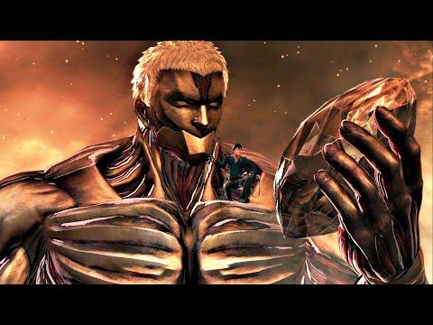 ฉากสุดมัน ไททันเกราะบุกช่วยแอนนี่ : Attack on Titan 2