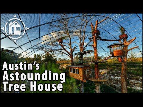 Multi-Level Tree House Inspired by Swiss Family Robinson