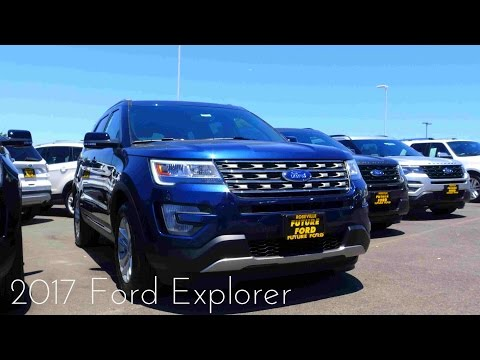 2017 Ford Explorer XLT 2.3 L Ecoboost 4-Cylinder Review