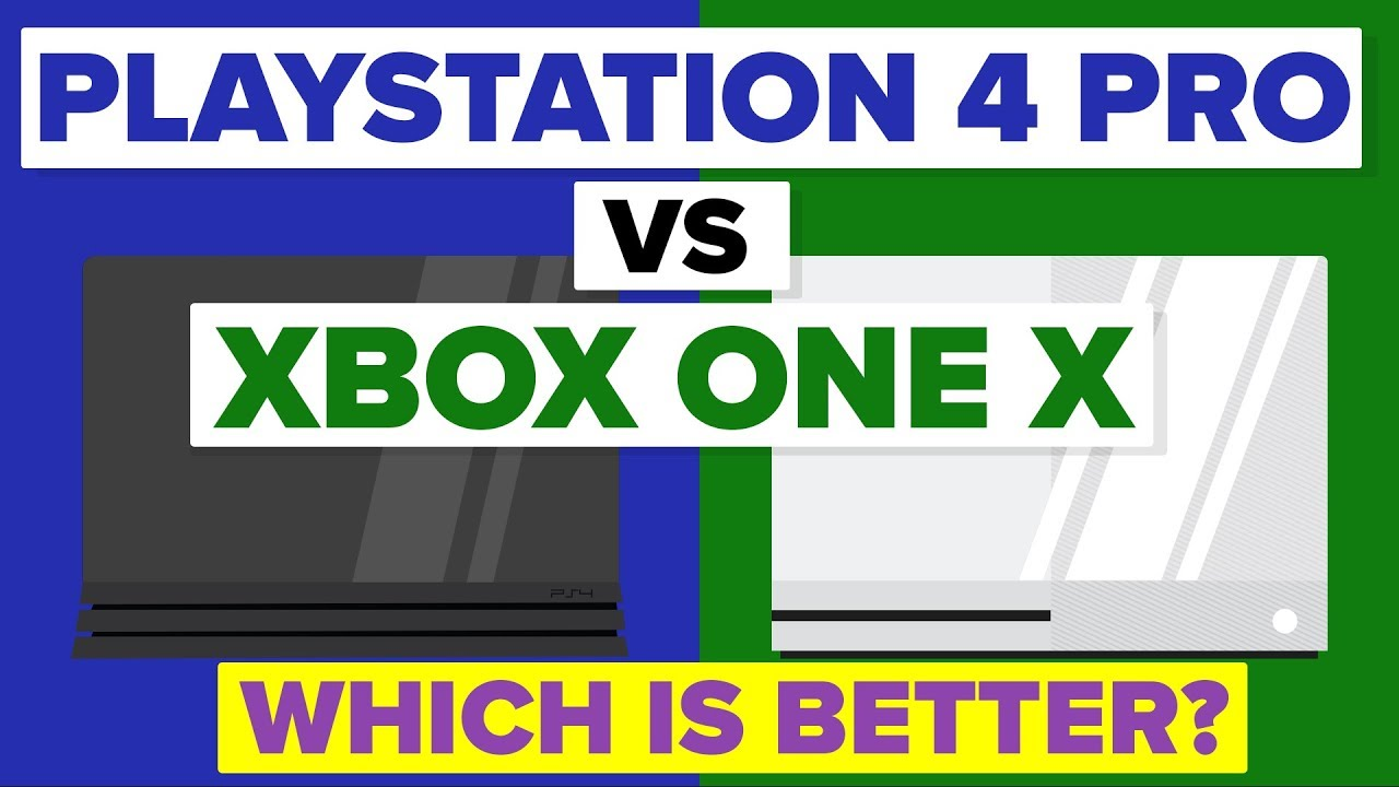 4 Or Xbox Pros One Better Which X Playstation