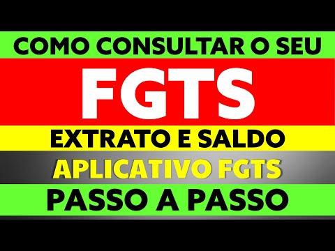 ✔ FGTS: COMO CONSULTAR O SALDO FGTS E O EXTRATO FGTS? PASSO A PASSO APLICATIVO FGTS