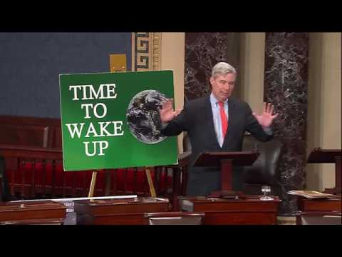 Time to Wake Up: The Increasingly Extinct Glaciers: Sen. Sheldon Whitehouse (March 2017)