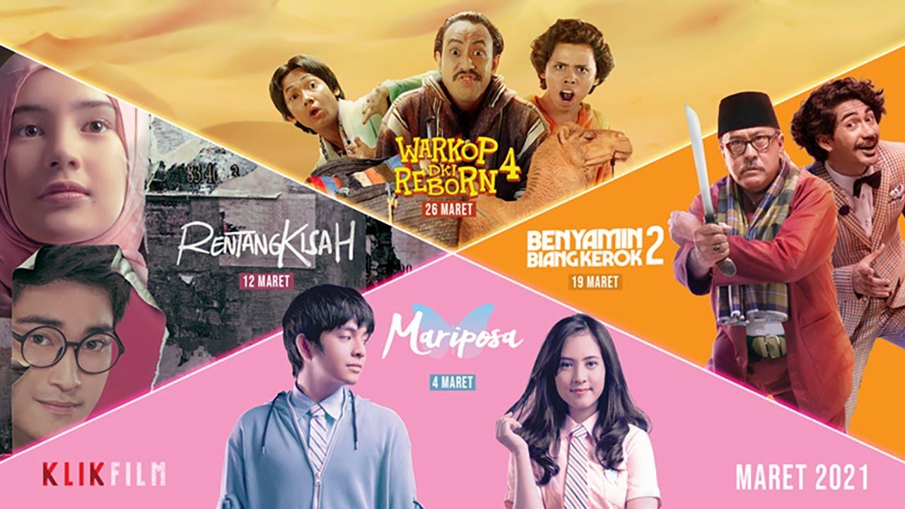 Official Trailer 4 Film Seru Di Bulan Maret Tayang di KlikFilm