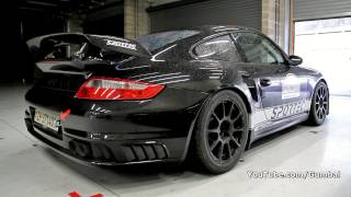 Porsche 997 GT2 Sportec 800HP!! In action on the track!!