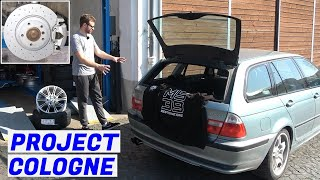 Make It Stop & Steer Better - BMW E46 325i Touring - Project Cologne: Part 9
