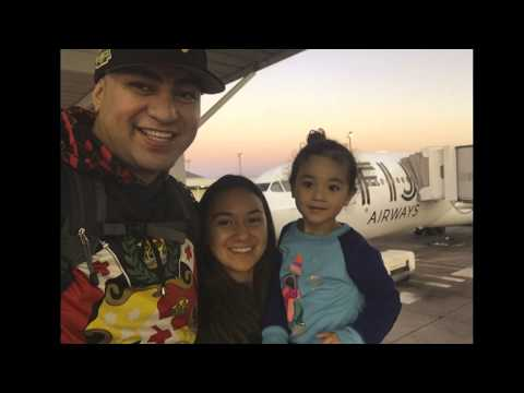 Tonga Trip | DEC 2017 Part 1 - Las Vegas - LAX to Fiji (Fiji Airways)