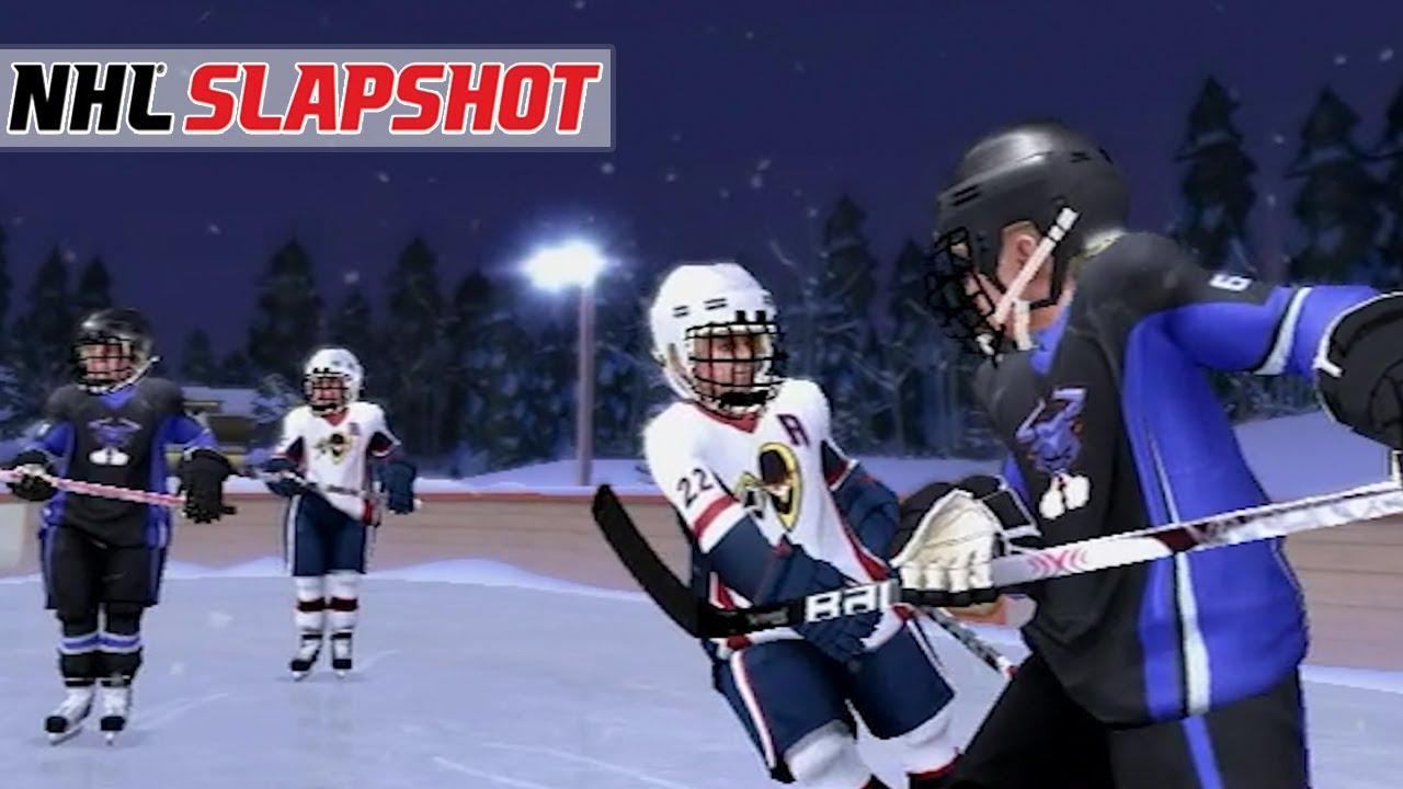 PEEWEE TO PRO #5 *FIRST BANTAM GAME* (NHL Slapshot Wii)