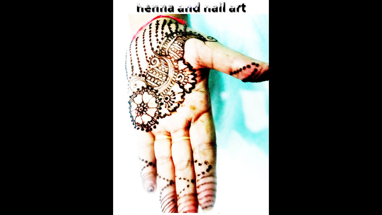 Mehndi Designs Hands Teej : Henna mehndi designs for eid and teej easy beautiful
