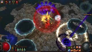Milky s Righteous Fire Totems Shaper kill 5 link 75c budget