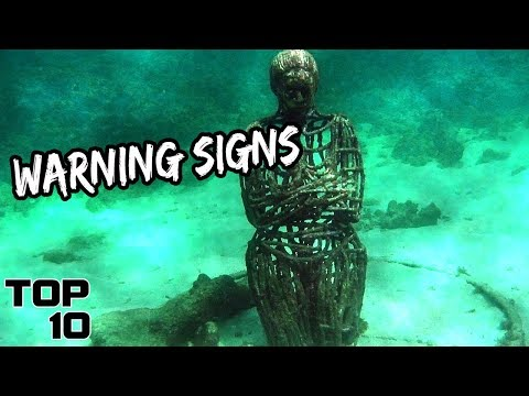 Top 10 Scary Objects Found In The Deep Sea